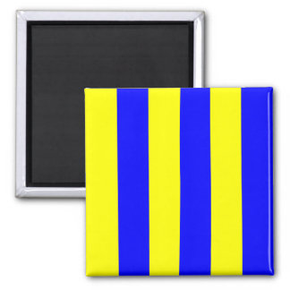 Nautical Flag Signal Letter G (Golf) Magnet