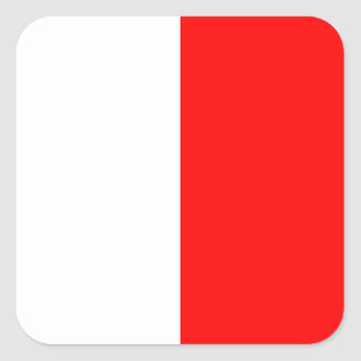 Nautical Flag Signal Letter H (Hotel) Square Sticker
