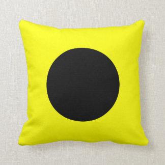 Nautical Flag Signal Letter I Throw Pillow