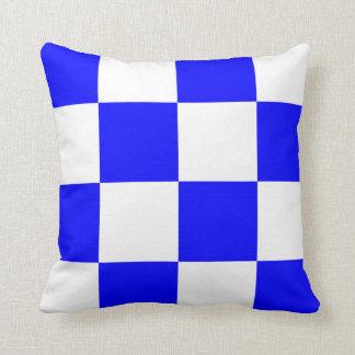 Nautical Flag Signal Letter N Cushion