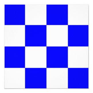 Nautical Flag Signal November Letter N Card