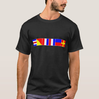 nautical flags cotter T-Shirt