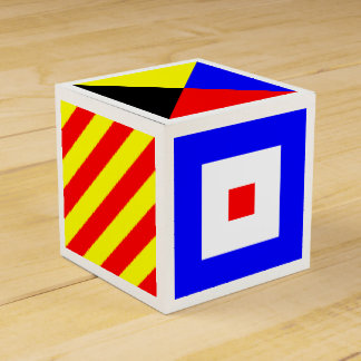 Nautical Flags Favour Box