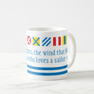 Nautical Flags Maritime Signals Nautical Toast Mug