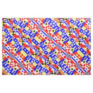 Nautical Flags Pattern Fabric
