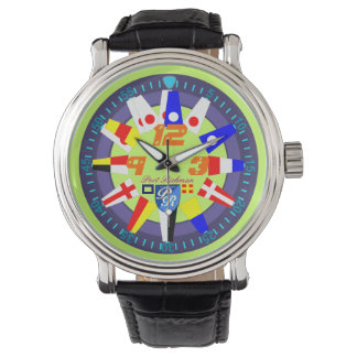 Nautical Flags Port Richman Yachting Watch