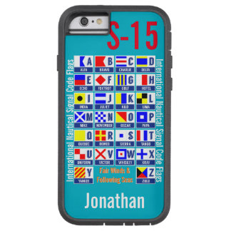 Nautical Flags Tough Xtreme iPhone 6 Case