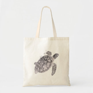 Nautical Gift idea, Sea Turtle Tote