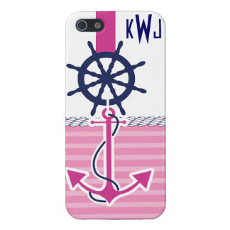 Nautical Girl iPhone 5/5S Cover