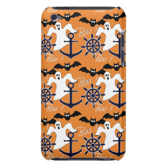 Nautical Halloween pattern Barely There iPod Cover