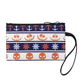 Nautical Halloween pattern Coin Purse