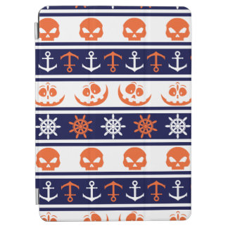 Nautical Halloween pattern iPad Air Cover