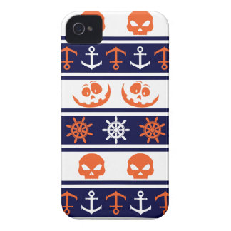 Nautical Halloween pattern iPhone 4 Cover