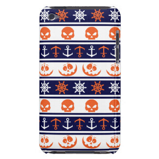 Nautical Halloween pattern iPod Touch Covers