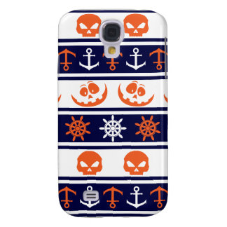 Nautical Halloween pattern Samsung Galaxy S4 Covers