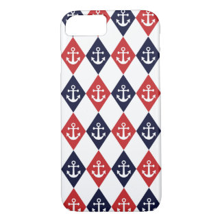 Nautical harlequin pattern iPhone 8/7 case