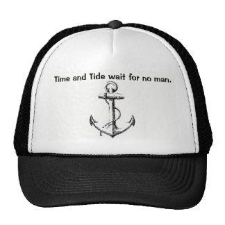 Nautical Hat with Anchor