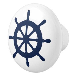 Nautical helm custom door and drawer pull knobs