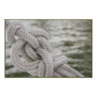 Nautical Knot Poster