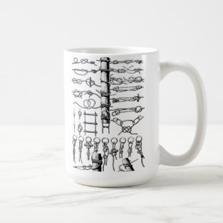 Nautical Knots Chart Vintage Classic White Coffee Mug