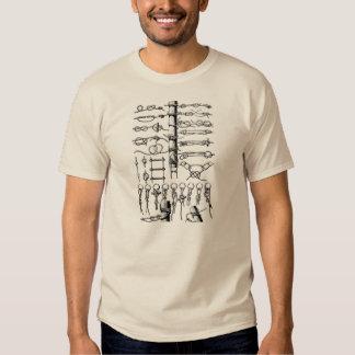 Nautical Knots Chart Vintage Shirts