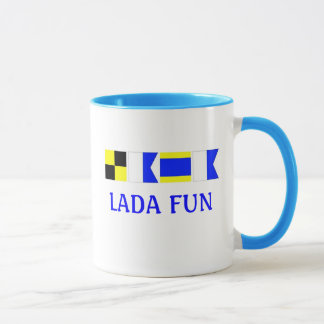 Nautical LADA Mug
