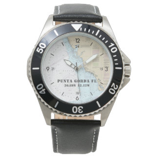 Nautical Latitude Longitude Boater's Punta Gorda Watch
