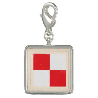 "Nautical Letter ""U"" Signal Flag"