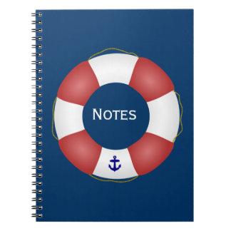 Nautical Life preserver Notebook