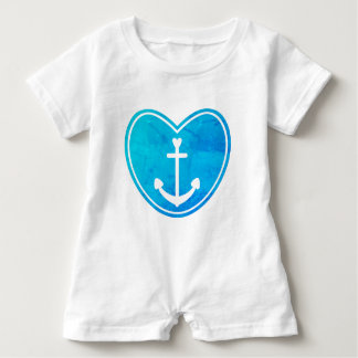 Nautical Love Baby Bodysuit
