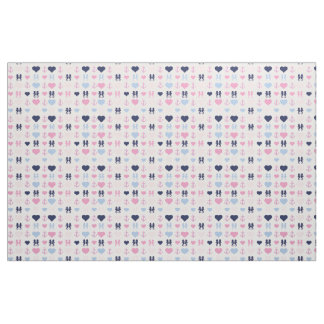 Nautical Love Fabric
