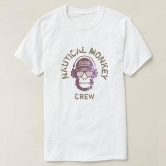 NAUTICAL MONKEY CREW T-Shirt