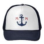 Nautical Monogram Cap