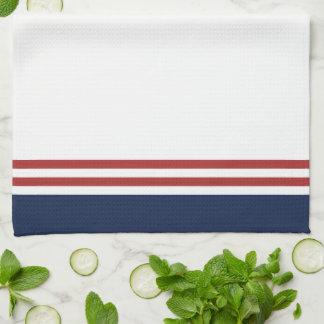 Nautical Monogram Tea Towel
