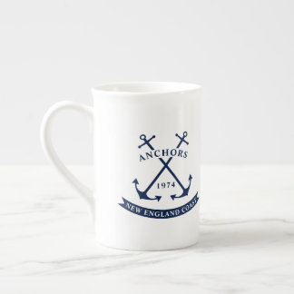 Nautical Mug with Anchors - Customizable