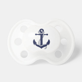 Nautical navy anchor bestselling pacifier
