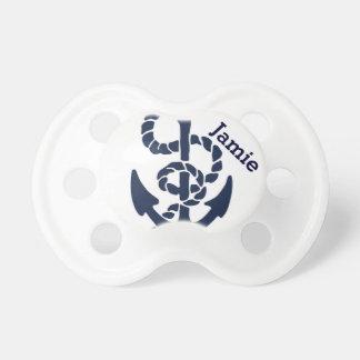 Nautical Navy Anchor Pattern Dummy