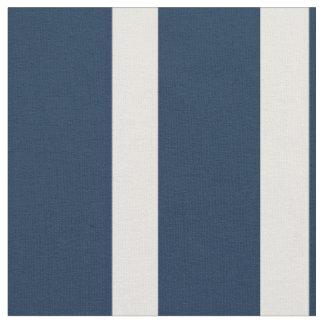 Nautical Navy and White Stripe Fabric