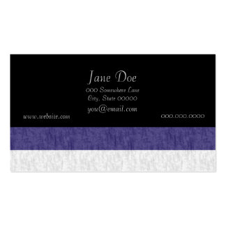 Nautical Navy Blue White Stripes Pack Of Standard Business Cards
