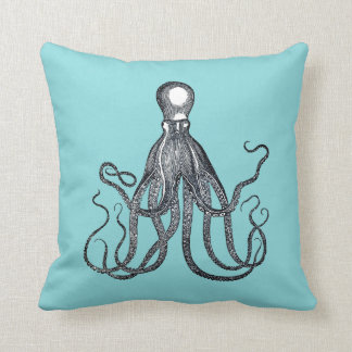 Nautical Octopus Cushion