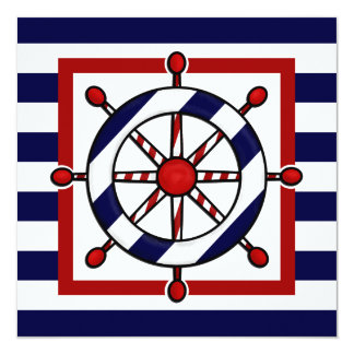 Nautical Party Invitations