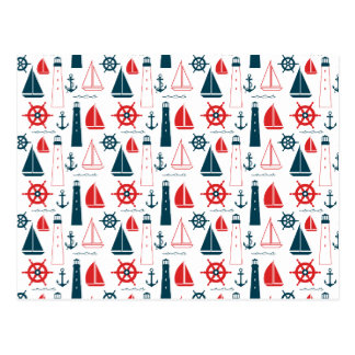 Nautical Patriot Postcard