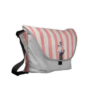 nautical pattern commuter bags