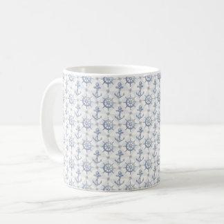 Nautical Pattern Mug