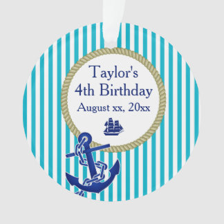 Nautical Personalized Birthday Party