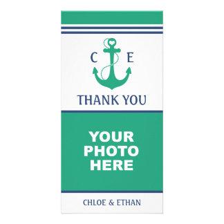 Nautical Photo Thank You Photo Greeting Card