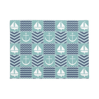 Nautical Quilt Doormat