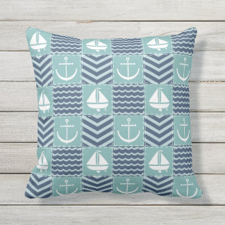 Nautical Quilt Pillow