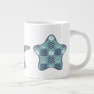 Nautical Quilt Specialty Mug