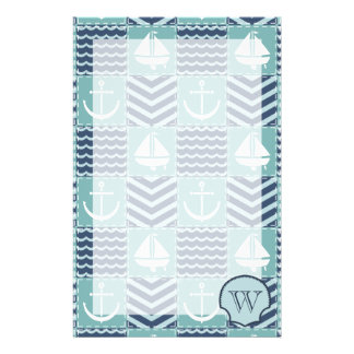 Nautical Quilt Stationery